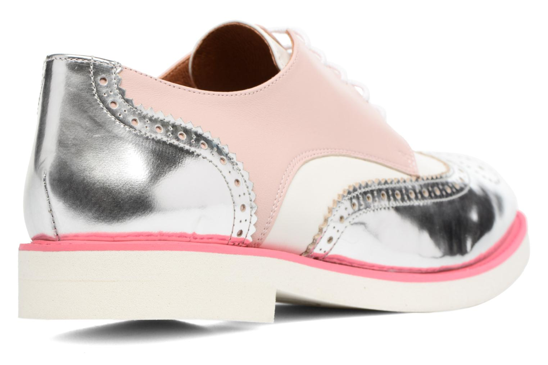 Zapatos con cordones Made by SARENZA Partygloo #3 Rosa vista de frente