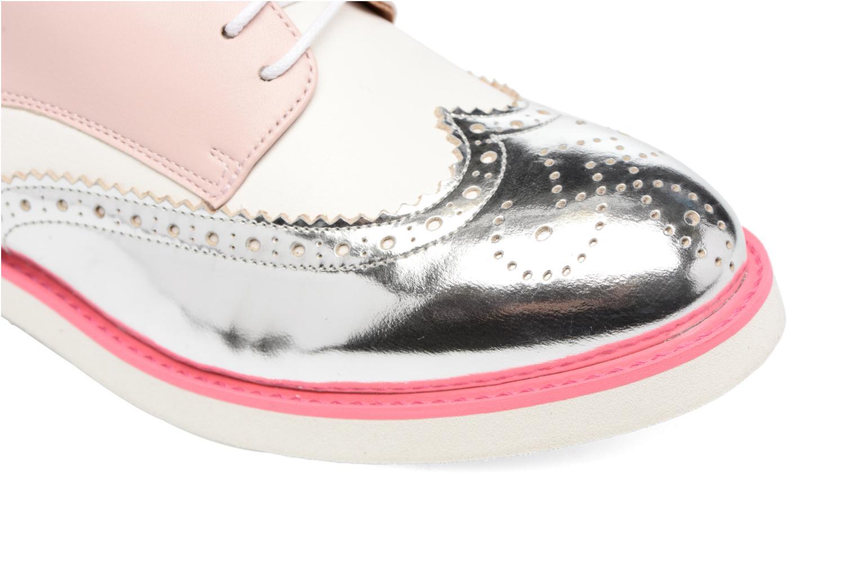Zapatos con cordones Made by SARENZA Partygloo #3 Rosa vista lateral izquierda