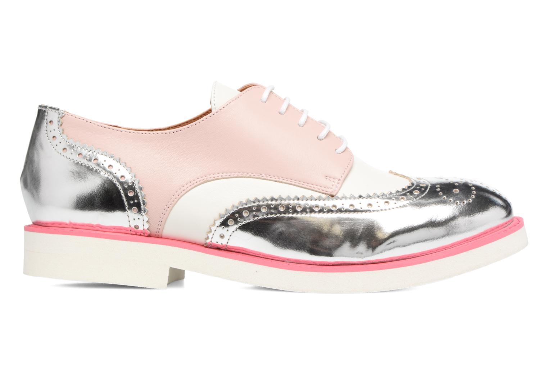 Zapatos con cordones Made by SARENZA Partygloo #3 Rosa vista de detalle / par