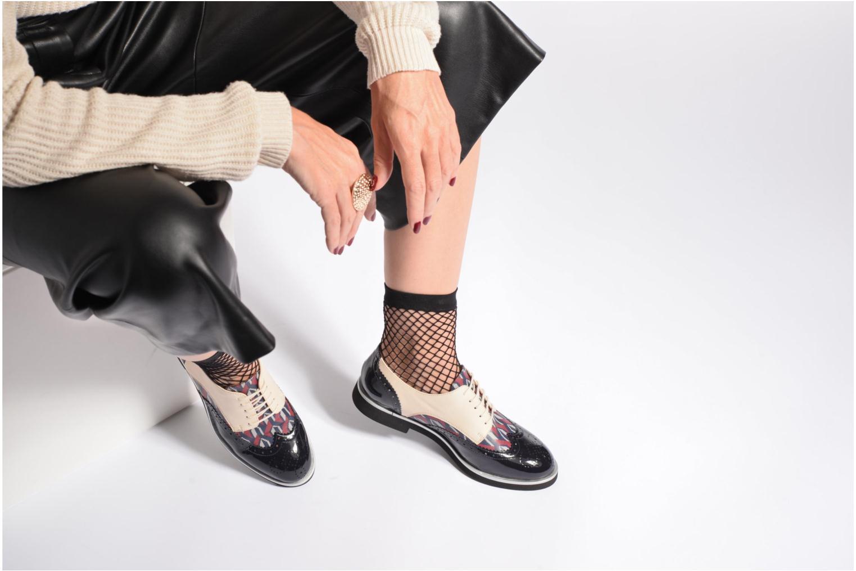 Schnürschuhe Made by SARENZA Busy Girl Chaussures à Lacets #3 mehrfarbig ansicht von unten / tasche getragen