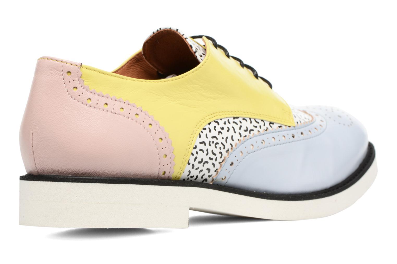Partygloo #3 Mescai bleu + print fideua + mescai jaune + mescai rose