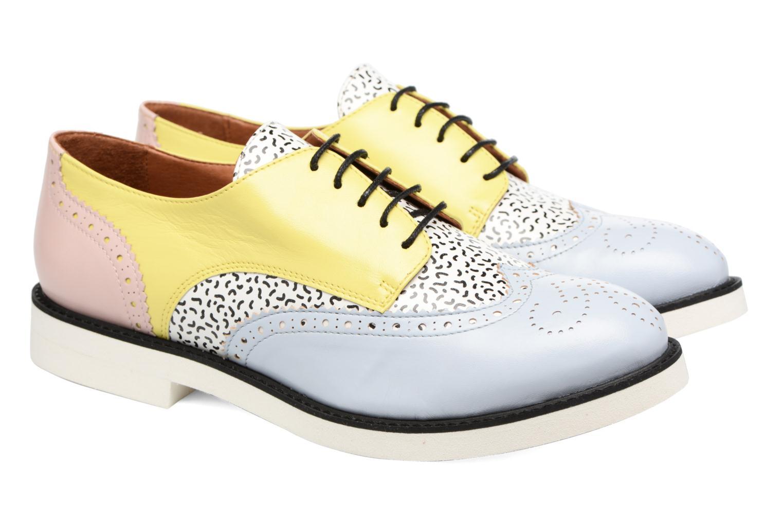 Schnürschuhe Made by SARENZA Busy Girl Chaussures à Lacets #3 mehrfarbig ansicht von hinten