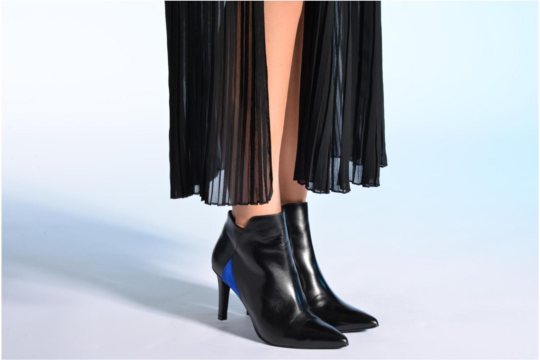 Stiefeletten & Boots Made by SARENZA Pop Party #8 schwarz ansicht von unten / tasche getragen