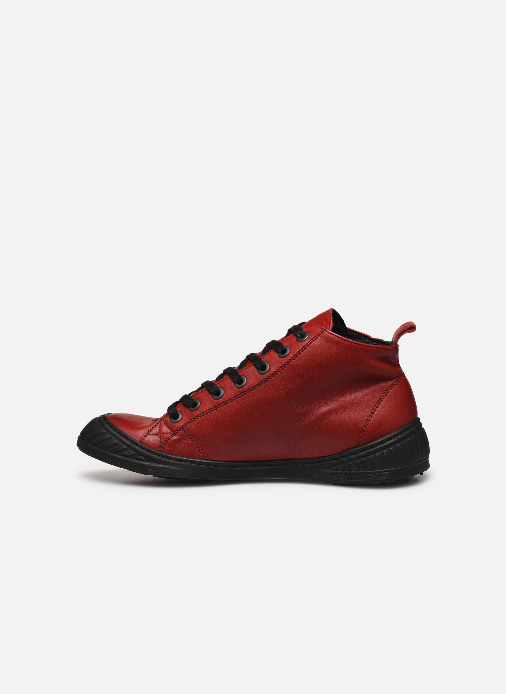Sneakers Pataugas RockerN Rosso immagine frontale