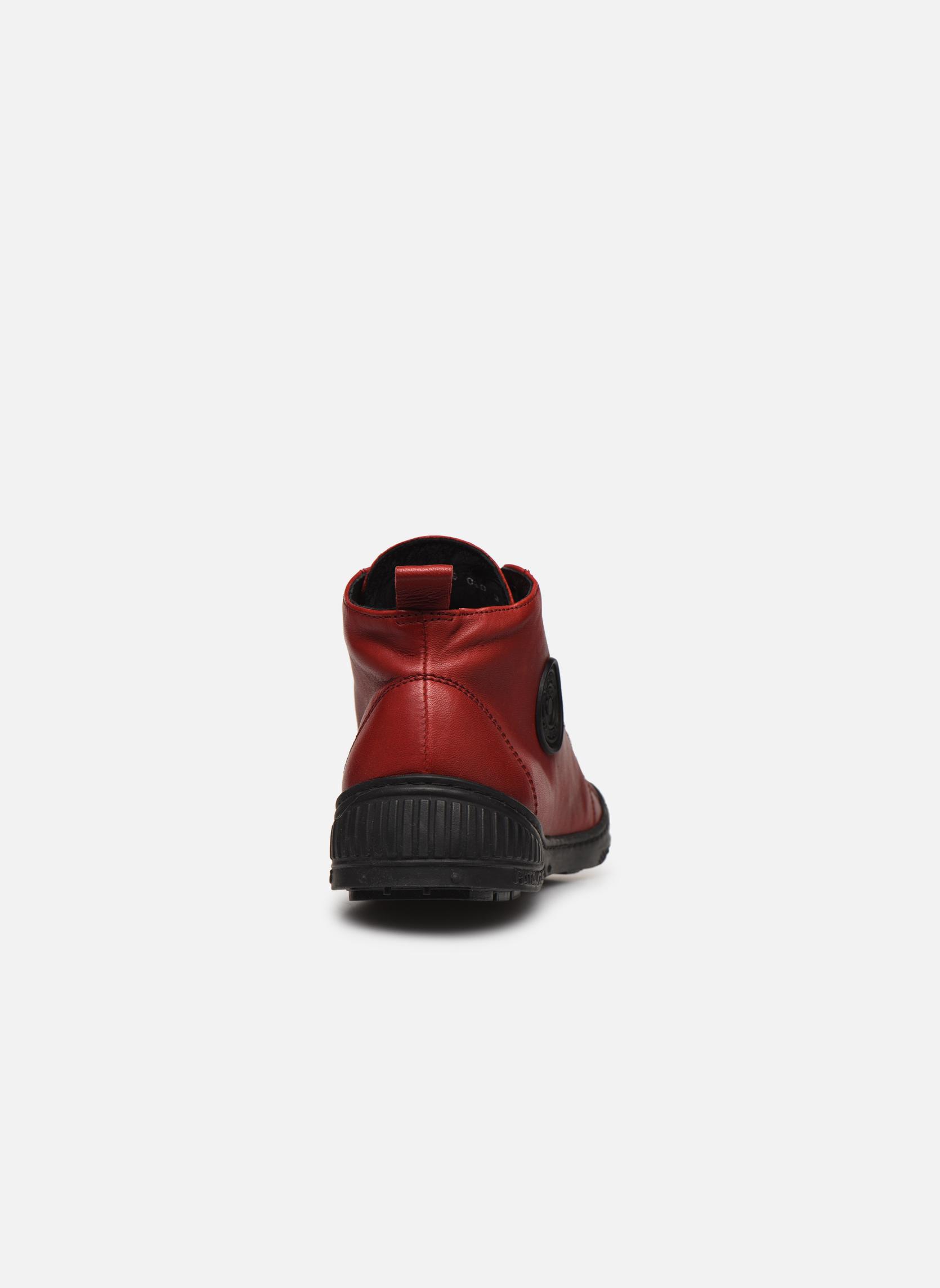 Sneakers Pataugas RockerN Rosso immagine destra