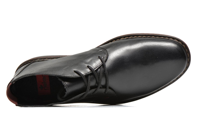 Chaussures à lacets Rieker Martin 30423 Noir vue gauche