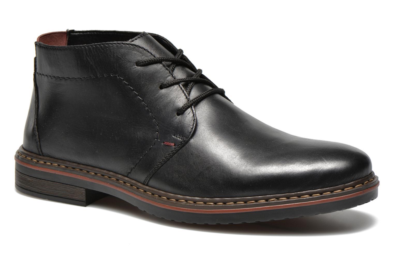 Chaussures à lacets Rieker Martin 30423 Noir vue détail/paire