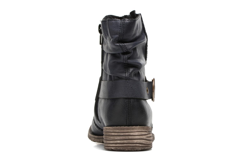 Boots en enkellaarsjes Rieker Myla 74798 Blauw rechts