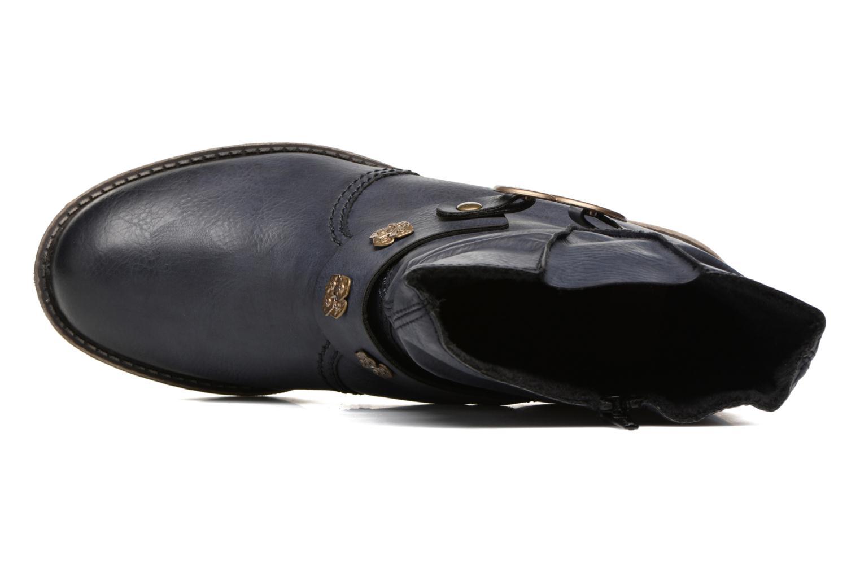 Boots en enkellaarsjes Rieker Myla 74798 Blauw links