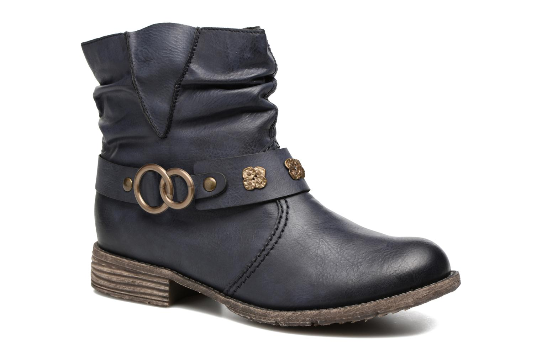 Boots en enkellaarsjes Rieker Myla 74798 Blauw detail