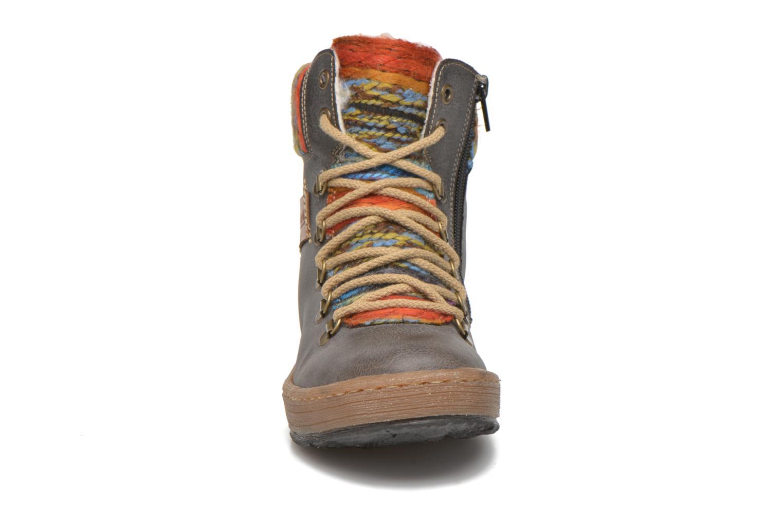 Bottines et boots Rieker Ilam Z6743 Multicolore vue portées chaussures