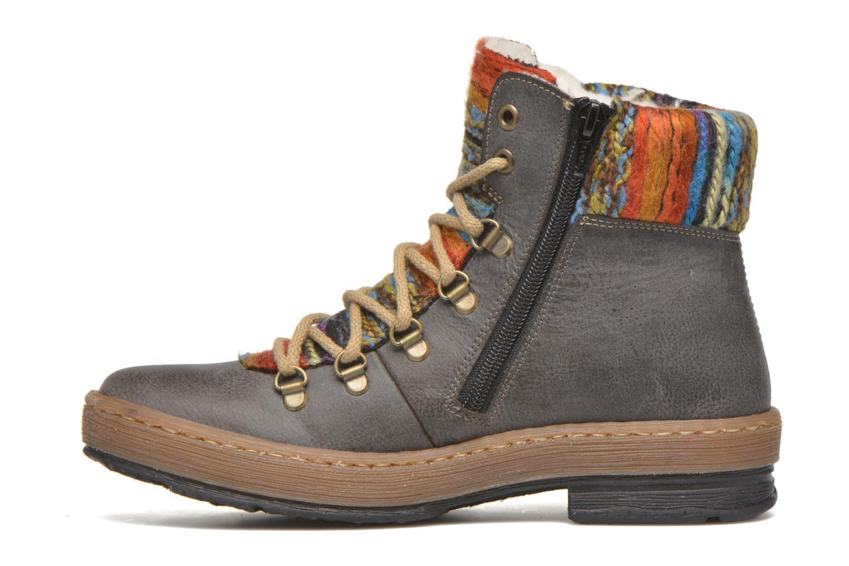 Bottines et boots Rieker Ilam Z6743 Multicolore vue face