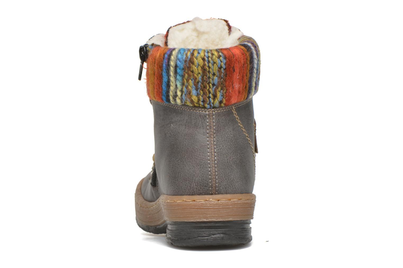 Bottines et boots Rieker Ilam Z6743 Multicolore vue droite