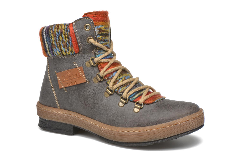 Bottines et boots Rieker Ilam Z6743 Multicolore vue détail/paire