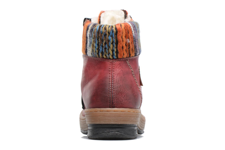 Boots en enkellaarsjes Rieker Ilam Z6743 Bordeaux rechts