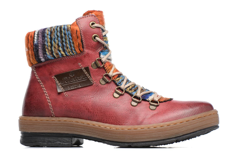 Boots en enkellaarsjes Rieker Ilam Z6743 Bordeaux achterkant
