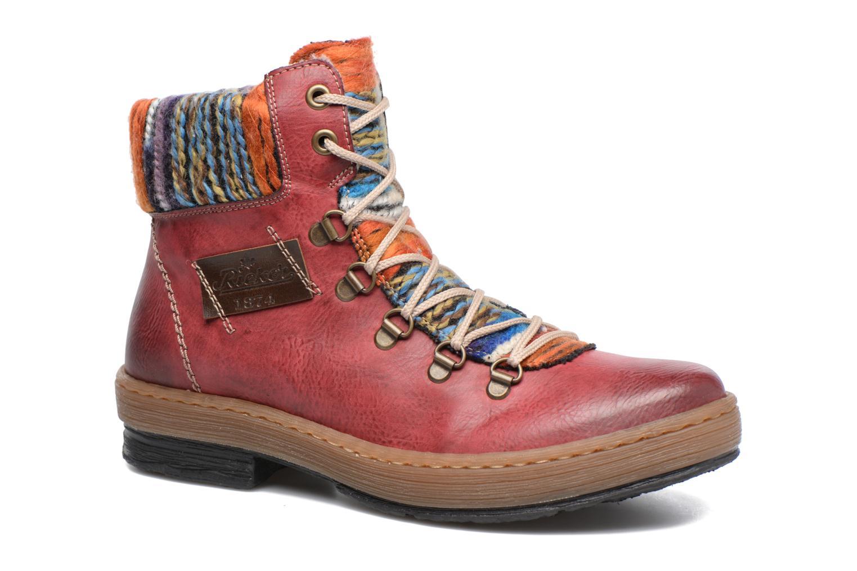 Boots en enkellaarsjes Rieker Ilam Z6743 Bordeaux detail