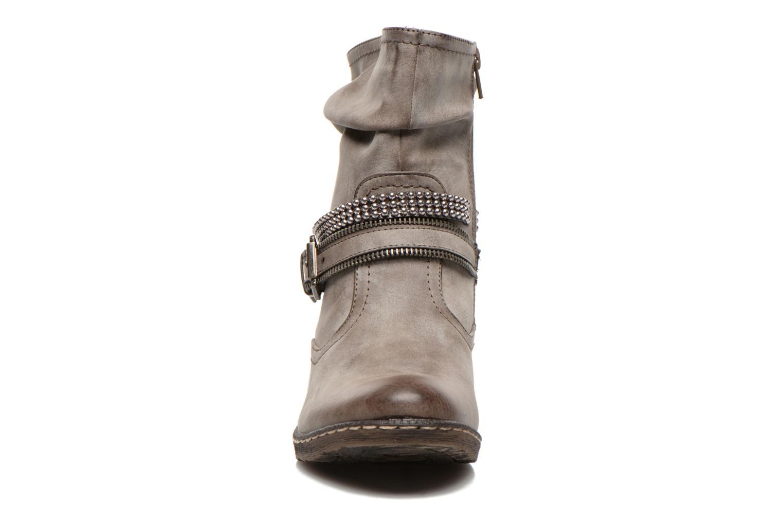 Bottines et boots Rieker Kady K1496 Marron vue portées chaussures