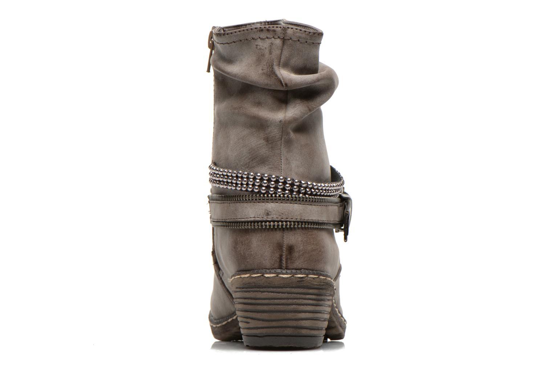 Bottines et boots Rieker Kady K1496 Marron vue droite