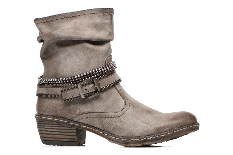 Boots en enkellaarsjes Rieker Kady K1496 Bruin achterkant