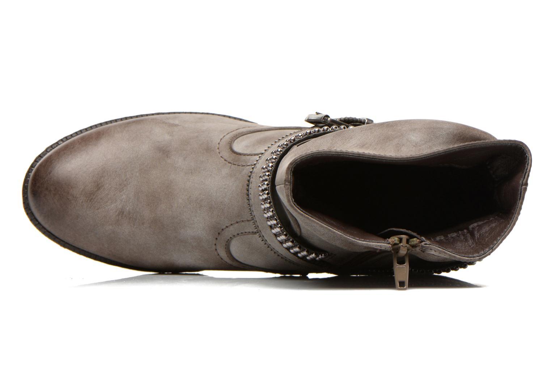 Bottines et boots Rieker Kady K1496 Marron vue gauche