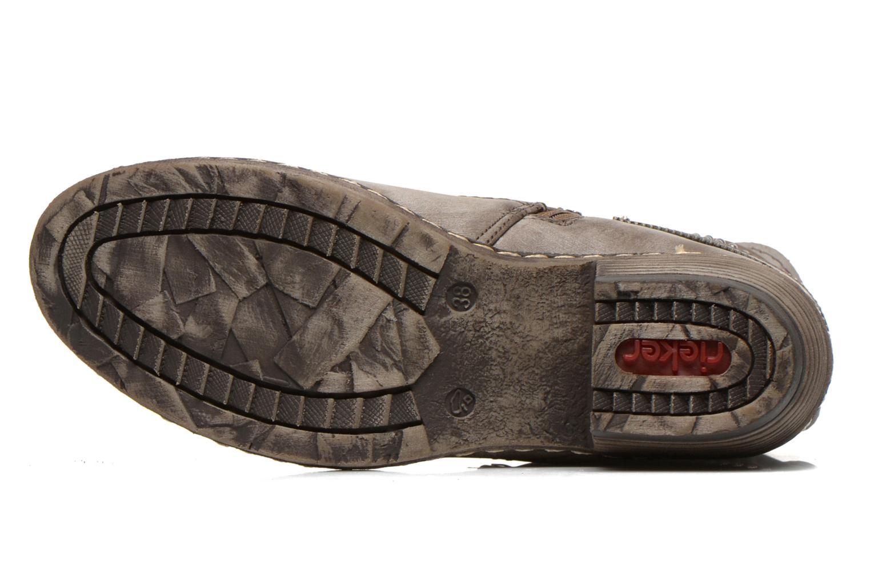 Boots en enkellaarsjes Rieker Kady K1496 Bruin boven