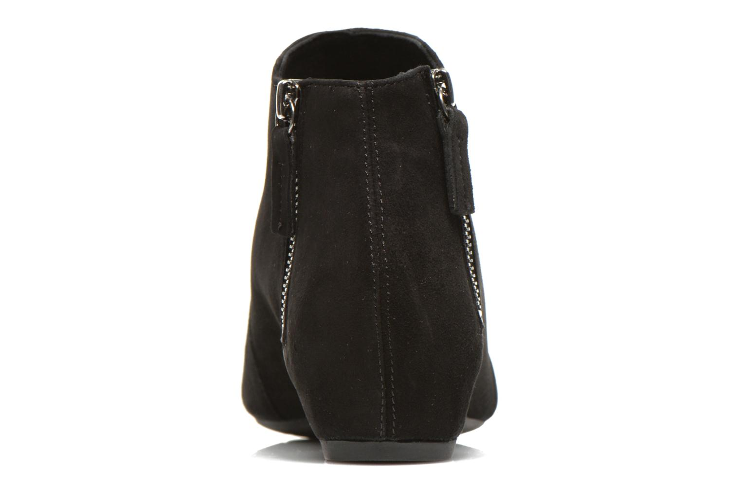 Ankle boots Unisa Astor Black view from the right