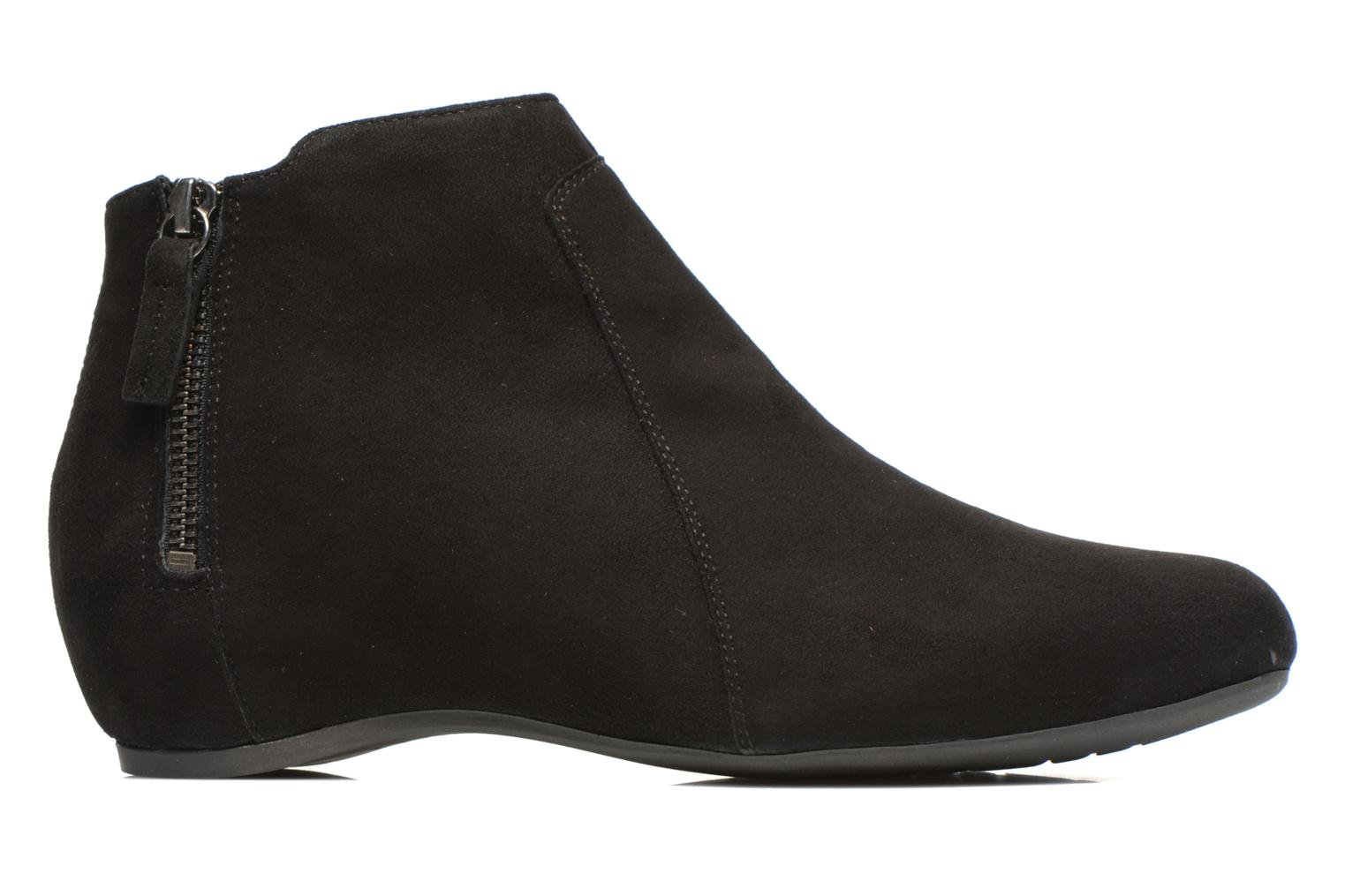 Ankle boots Unisa Astor Black back view