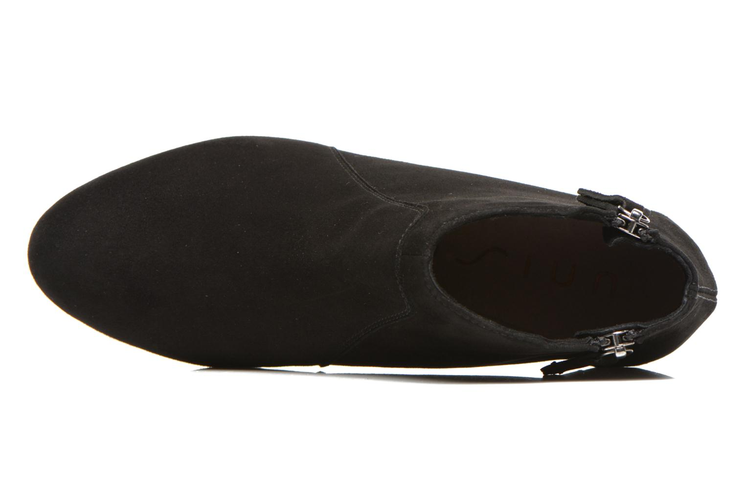 Ankle boots Unisa Astor Black view from the left