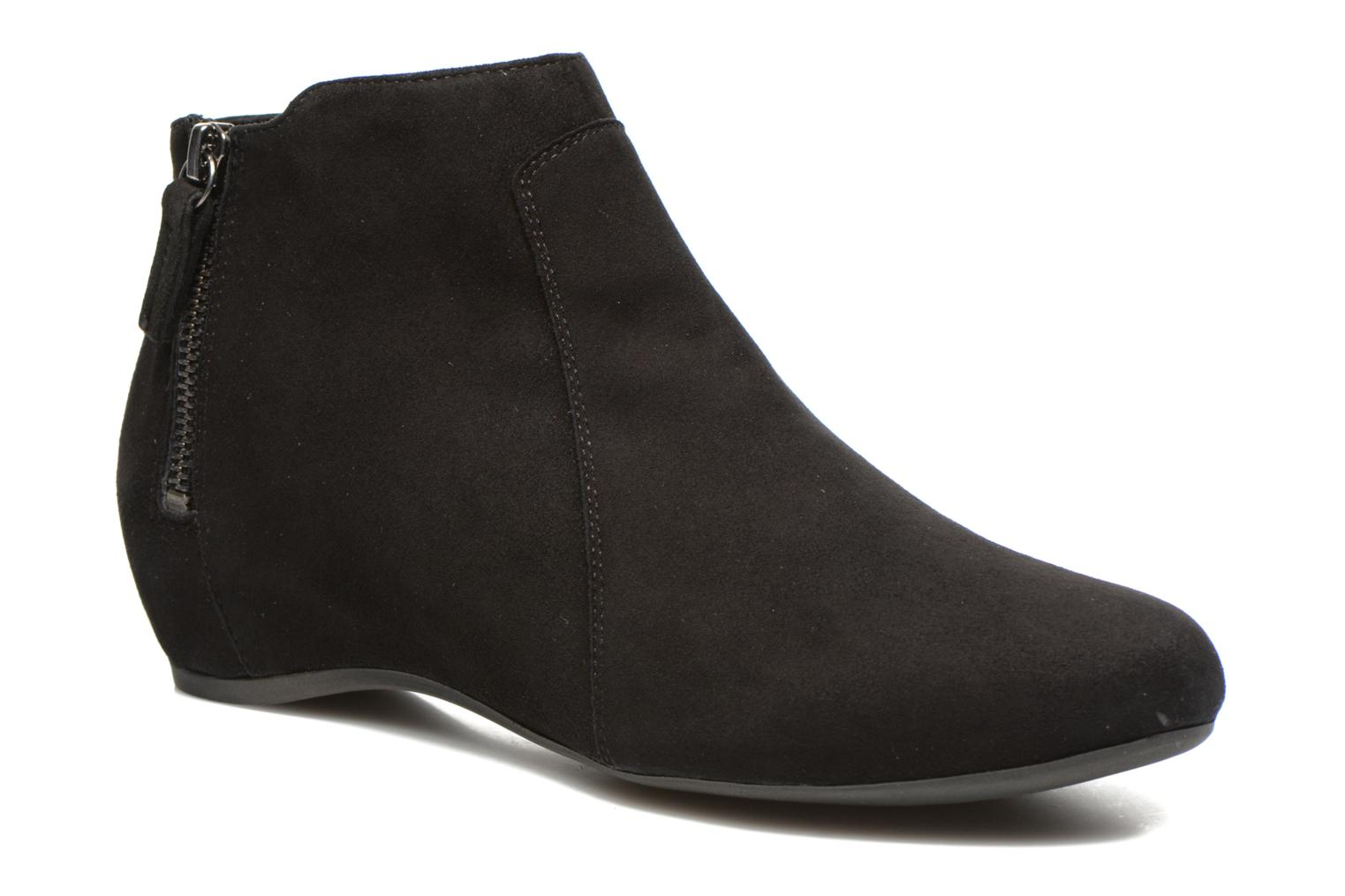 Ankle boots Unisa Astor Black detailed view/ Pair view