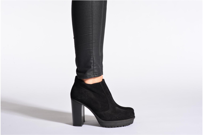 Bottines et boots Unisa Tarfe Noir vue bas / vue portée sac