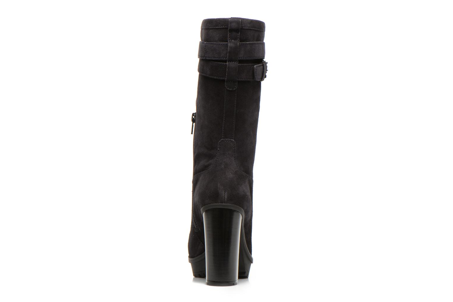 Ankle boots Unisa Talia2 Black view from the right