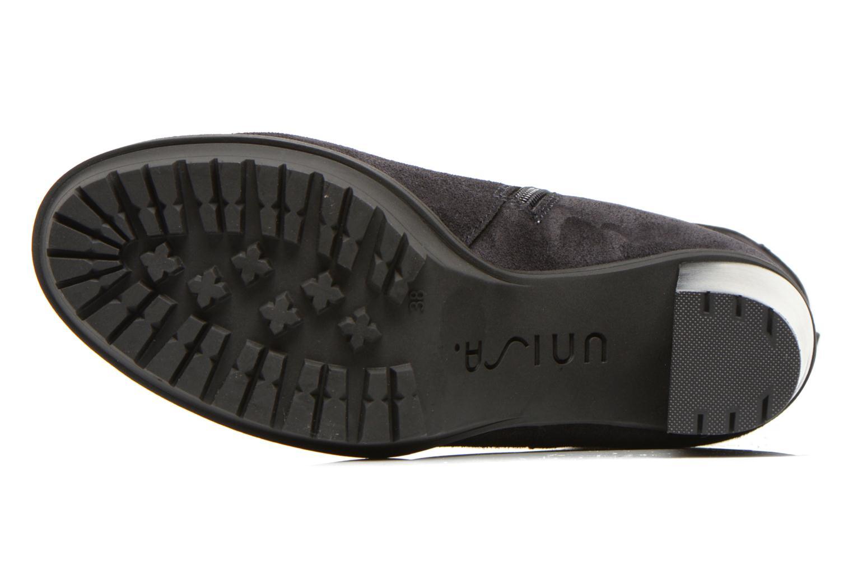 Bottines et boots Unisa Talia2 Noir vue haut