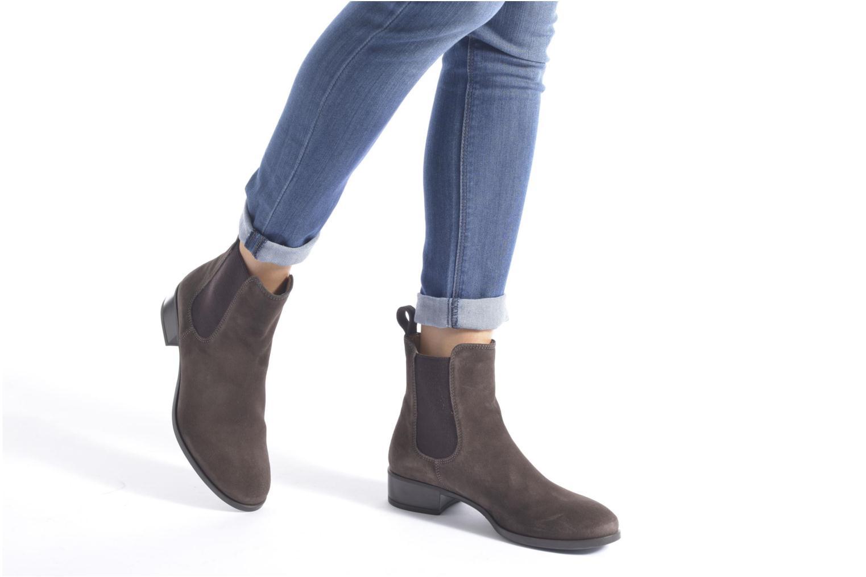 Bottines et boots Unisa Darwin Marron vue bas / vue portée sac