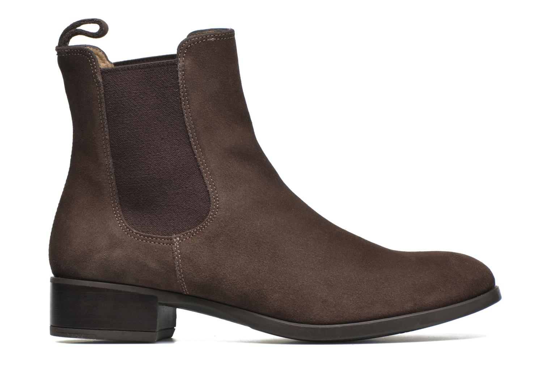 Bottines et boots Unisa Darwin Marron vue derrière