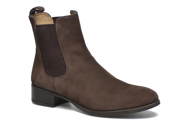 Bottines et boots Unisa Darwin Marron vue détail/paire