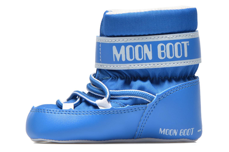 Bottes Moon Boot Moon Boot Crib Bleu vue face