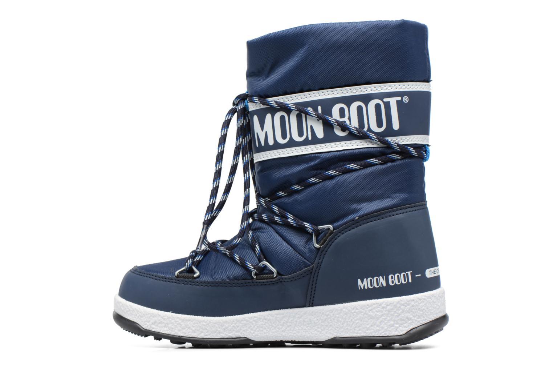 Bottes Moon Boot Moon Boot Sport Jr Bleu vue face