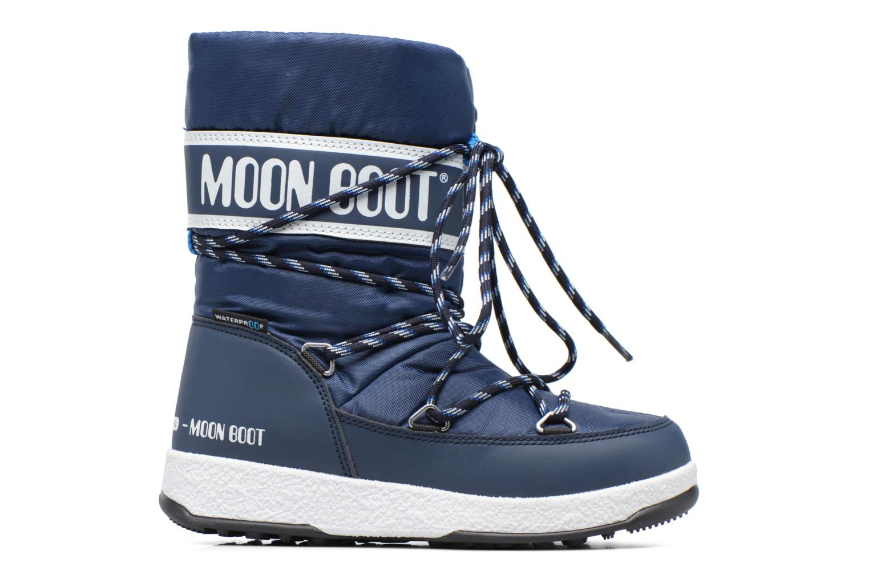 Bottes Moon Boot Moon Boot Sport Jr Bleu vue derrière