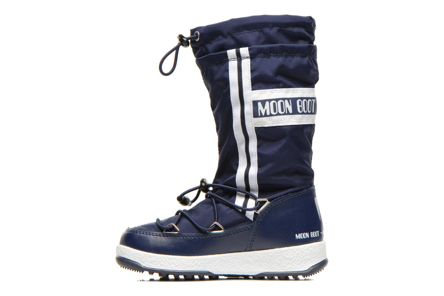 Boots & wellies Moon Boot Moon Boot W.Fall Jr Wp Blue front view