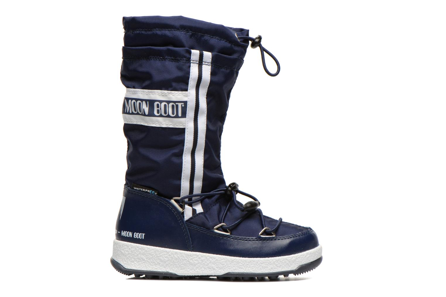 Boots & wellies Moon Boot Moon Boot W.Fall Jr Wp Blue back view