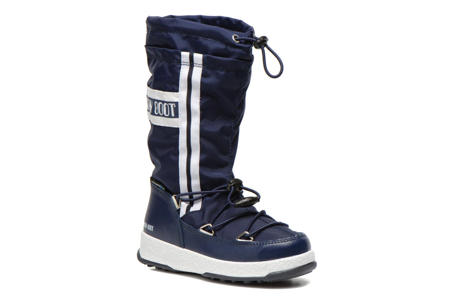 Boots & wellies Moon Boot Moon Boot W.Fall Jr Wp Blue detailed view/ Pair view