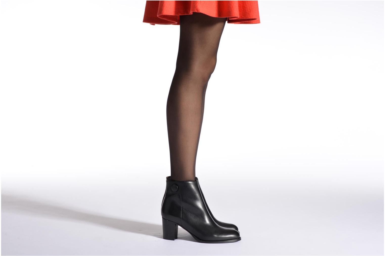 Bottines et boots Georgia Rose Tirrany Noir vue bas / vue portée sac