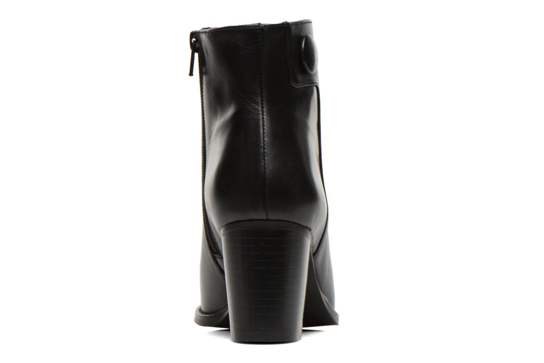 Bottines et boots Georgia Rose Tirrany Noir vue droite