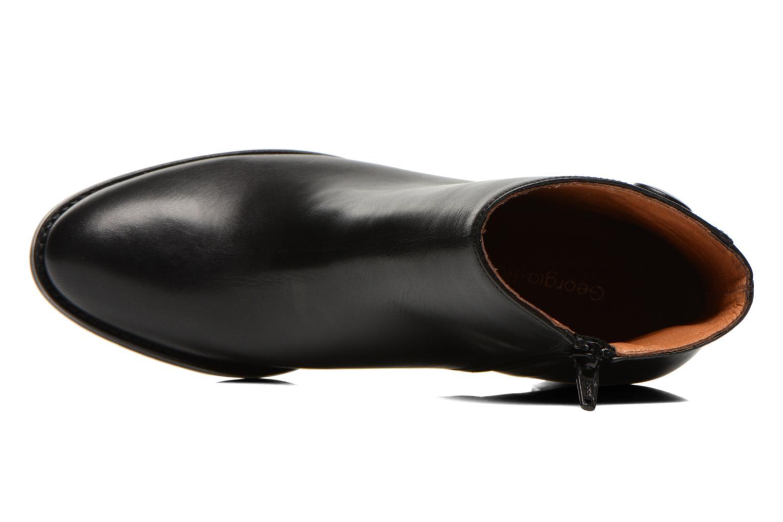 Bottines et boots Georgia Rose Tirrany Noir vue gauche