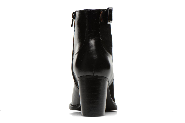 Bottines et boots Georgia Rose Domineta Noir vue droite
