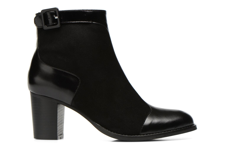 Bottines et boots Georgia Rose Domineta Noir vue derrière
