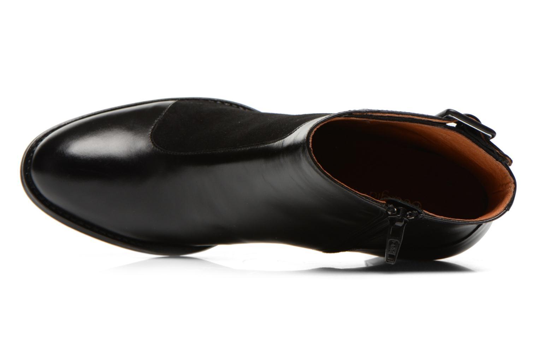 Bottines et boots Georgia Rose Domineta Noir vue gauche