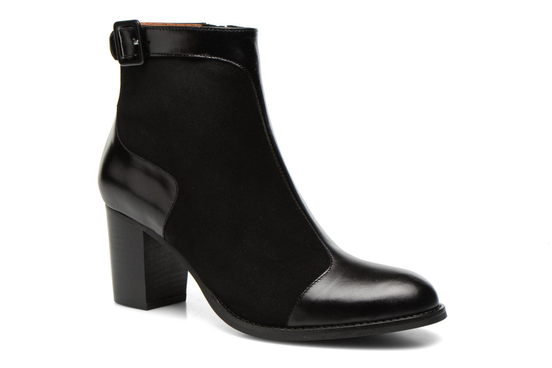 Bottines et boots Georgia Rose Domineta Noir vue détail/paire
