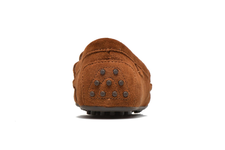 Loafers Polo Ralph Lauren Wes-E Brun Bild från höger sidan